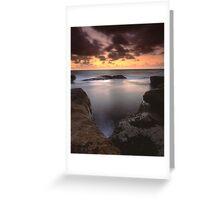 """Gleaming"" ∞ Little Bay, NSW - Australia Greeting Card"