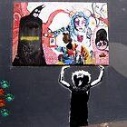 Newcastle Street Art by gilleebee