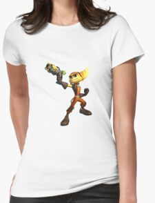 Ratchet & Clank 01 Womens Fitted T-Shirt