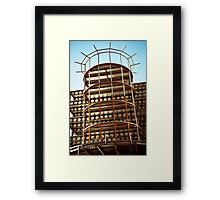 Who's Building Framed Print