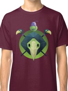 Low-Poly Plague Knight Classic T-Shirt