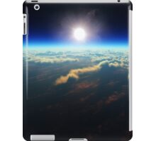 Earth sunrise from outer space iPad Case/Skin