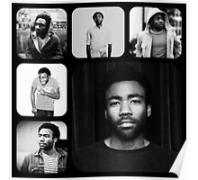Childish Gambino, Black & White Poster