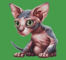Cat-a-clysm: Sphynx kitten - Classic Kids Tee