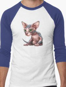 Cat-a-clysm: Sphynx kitten - Classic Men's Baseball ¾ T-Shirt