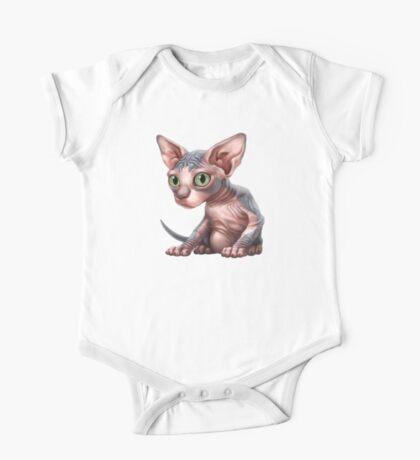 Cat-a-clysm: Sphynx kitten - Classic One Piece - Short Sleeve