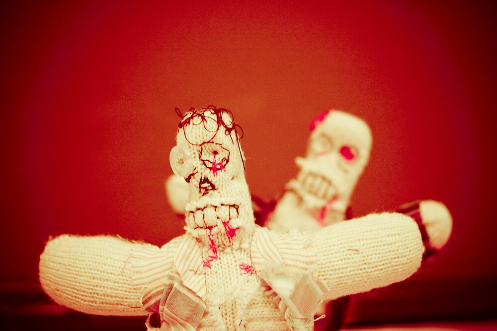 Zombie Doll Attack-2 by ScaredylionFoto