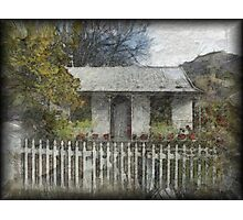 Settlers Cottage, Arrowtown, New Zealand Photographic Print