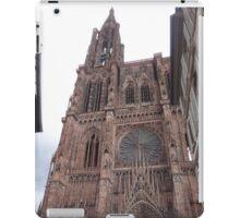 Notre Dame De Strasbourg iPad Case/Skin