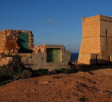 Fortifications of different eras - Malta. by Patrick Anastasi