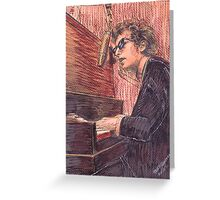 DYLAN AT THE PIANO Greeting Card