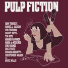 pulp fiction - color full version by Octochimp Designs