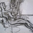Life (Artist & Model) by Thea T