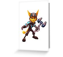 Ratchet & Clank 03 Greeting Card