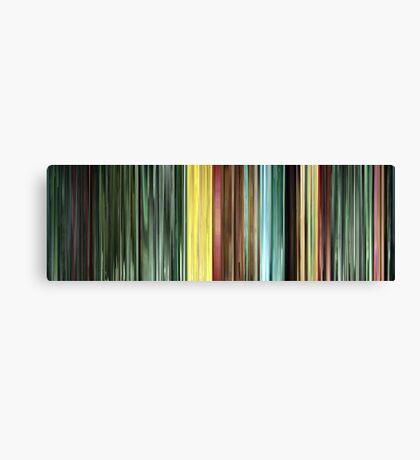 Moviebarcode: The Animatrix 9: Matriculated (2003) Canvas Print