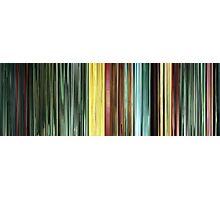 Moviebarcode: The Animatrix 9: Matriculated (2003) Photographic Print
