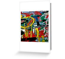 Graffiti #85 Greeting Card