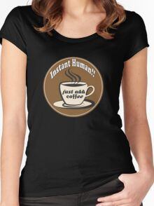 Coffee! Women's Fitted Scoop T-Shirt