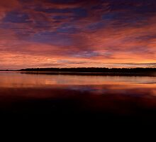 Silence - Narrabeen Lakes, Sydney Australia - The HDR Experience by Philip Johnson