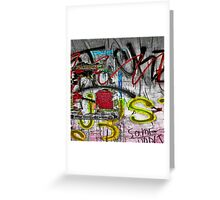 Graffiti #86 Greeting Card