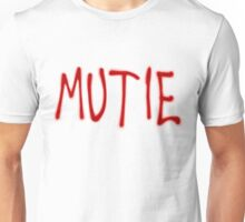 """MUTIE"" Mutant Pride Graffiti  Unisex T-Shirt"