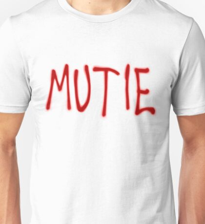 """MUTIE"" Mutant Pride Graffiti  Unisex T-Shirt"