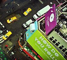 ''Manhattan Rain'' by Birgitta   †