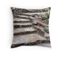 Stairs, in Stone Throw Pillow