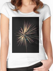 fireworks 4 Women's Fitted Scoop T-Shirt