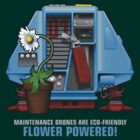 Silent Running, Flower Powered (Dewey Maintenance Drone 01) by Pango