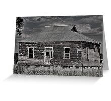 Rustic Rural Ruin Greeting Card