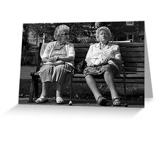 I said, are you listening to me ? Greeting Card