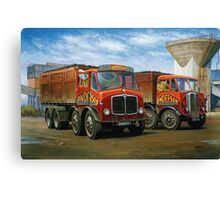 Sam Anderson's AEC tippers Canvas Print