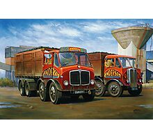 Sam Anderson's AEC tippers Photographic Print