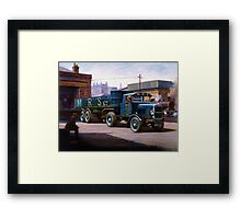Scammell MRS 1931 Framed Print