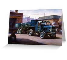 Scammell MRS 1931 Greeting Card