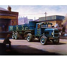 Scammell MRS 1931 Photographic Print