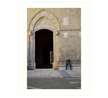 The Old Man of Siena Art Print