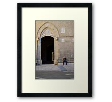 The Old Man of Siena Framed Print