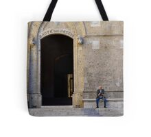 The Old Man of Siena Tote Bag