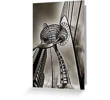 City of Melbourne Sculpture Greeting Card