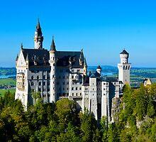 Neuschwanstein Castle by davefozz