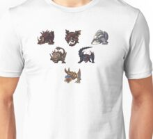 Monster Hunter Pyramid Design Unisex T-Shirt