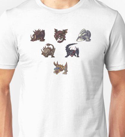 Monster Hunter Pyramid Design Unisex T-Shirt