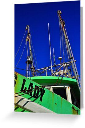 Lady Shrimper  by joevoz
