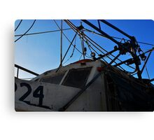 Old Shrimp Boat Canvas Print