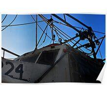 Old Shrimp Boat Poster