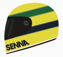 Formula 1 Ayrton Senna Helmet design Kids Clothes