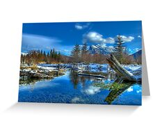 Morning on the Beaver Ponds Greeting Card
