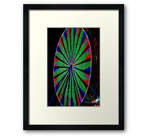 Ferris Wheel Fun Framed Print
